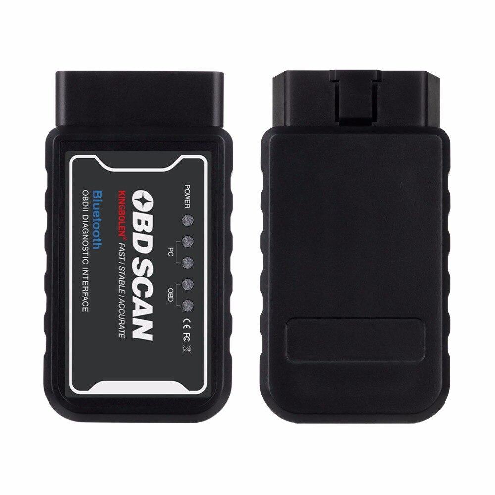 ELM327 WiFi V1.5 PIC18F25K80 Chip OBDII Diagnostic Tool IPhone/Android ELM 327 Bluetooth V 1.5 ICAR2 Auto Scanner Code Reader