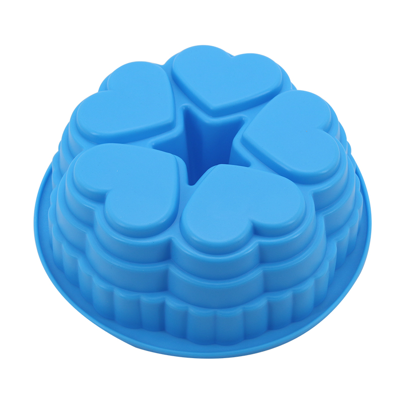 Mold For Heart Castle Shape Silicone Cake Molds Baking