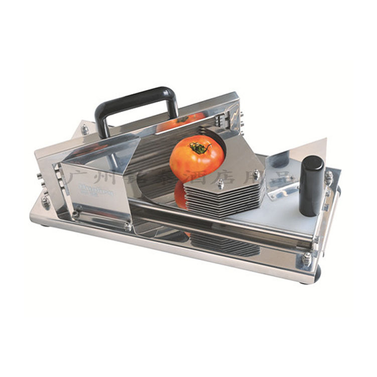 Free shipping HT-4 Commercial Manual Tomato Slicer Onion Slicing Cutter Machine Vegetable Cutting Machine popular manual fruit and vegetable slicer for lemon pineapple orange potato onion cucumber tomato slicing machine tool