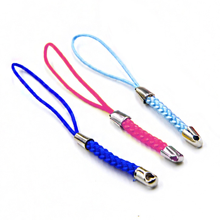5pcs/lot Tmobile case strap Lariat Lanyard Cell Phone cord hang Rope key chain Charms Finding gift Connector split ring DIY image