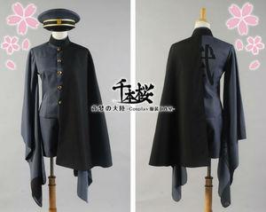 Image 3 - Senbonzakura Vocaloid Kagamine LEN Cosplay Costume Cosplay Kimono Army Uniform Cloth For Men Women Hallowmas