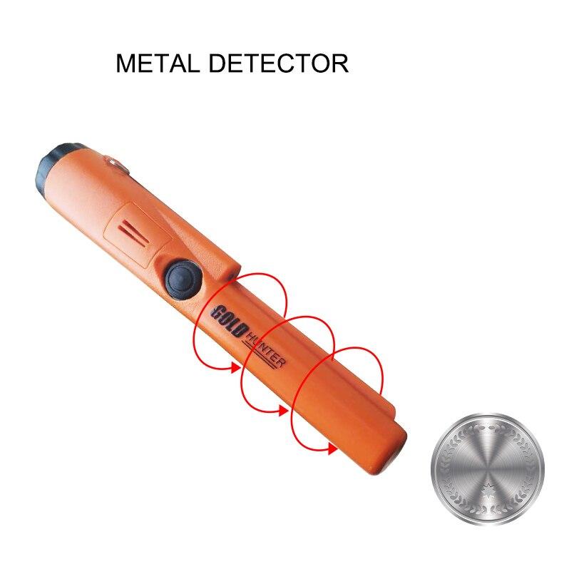Détecteur d'or main étanche détecteur d'or détecteur de métaux souterrain Mini GP pinpointeur Portable