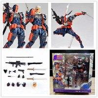 17cm Deathstroke Revcltecm Deadpool Series NO.011 X MEN Wade Winston Wilson Action Figure Toy Collection Model Gift