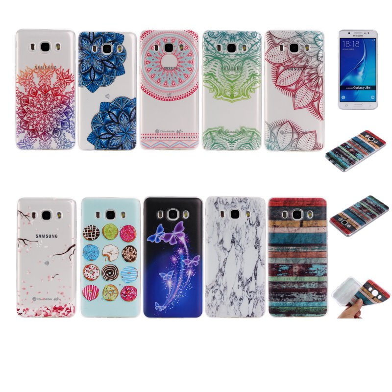 For Samsung Galaxy J3 2016 Cover Cases Clear Silicone Back Shell Gel Mobile Phone Accessories For Galaxy J3 2016 Version Cover
