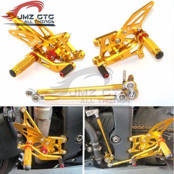 Motorcycle CNC Adjustable Rear Set Rearsets Footrest Foot Rest For HONDA CBR600RR 2009 2010 2011 2012 2013 2014 2015 2016 2017
