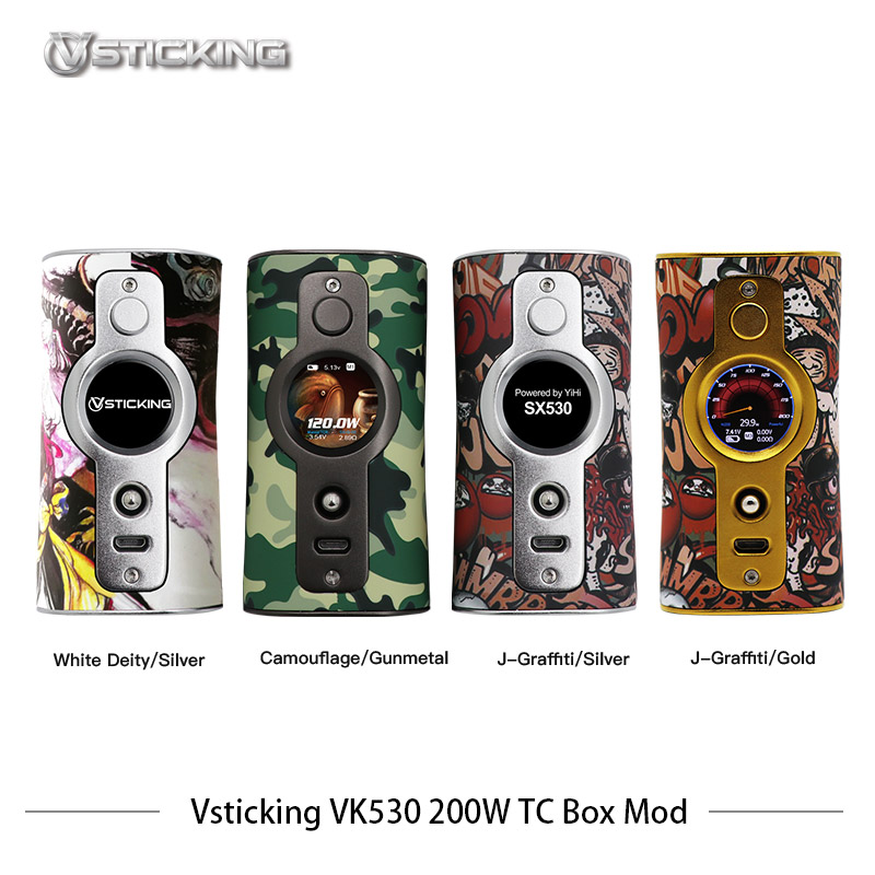Cigarettes électroniques Mod Vsticking VK530 200 W Boîte Mod Vaporisateur Max 200 w avec YiHi TC SX530 puce de contrôle de la température vaporisateur - 2