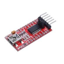 New FT232RL Amplifier Modules 3.3 5.5V FTDI USB To TTL Serial Adapter Module For Arduino Mini Port yn4561i isolation liuhe a serial module usb 485 422 232 ttl cp2102 cross serial port