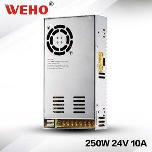 (S-250-24) Làm Mát 250W 24 V 10A 250W 24 V Chuyển Đổi Nguồn Điện