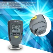 Цифровой толщиномер RM660, измеритель толщины краски, толщиномер, измеритель толщины краски автомобиля, Тестер Fe/NFe 0-1,25 мм для автомобиля