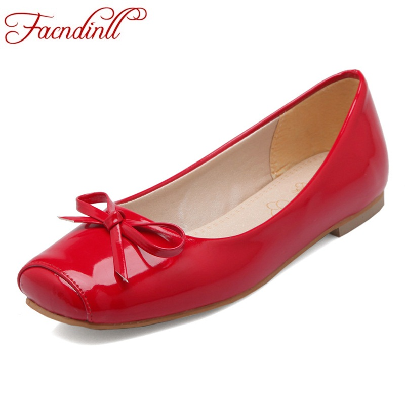 FACNDINLL women flats shoes new fashion high quality spring summer woman dress casual flat heel square toe shoes big size 34-43 new 2016 spring autumn summer fashion casual flat with shoes breathable pointed toe solid high quality shoes plus size 36 40