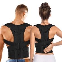 Corrector de postura de terapia magnética Aptoco, soporte para cinturón de respaldo de hombros y soportes para cinturón, postura de hombro Unisex