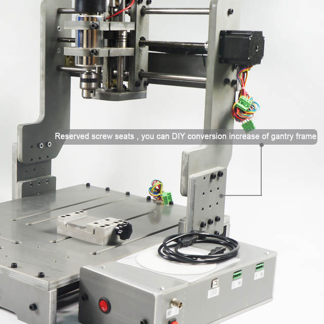 US $291 2 9% OFF|DIY 4030 cnc router mini 3040 cutting engraving machine  pcb pvc mill -in Wood Routers from Tools on Aliexpress com | Alibaba Group