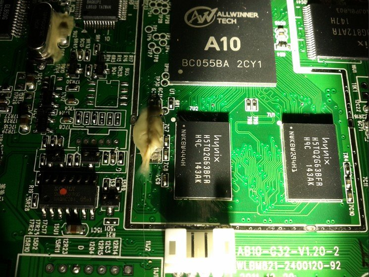 Mele A1000 TV box - Allwinner A10 hackable device