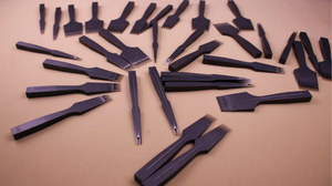 Image 5 - Manual customization  Steel Diamond Chisel Polished Prongs Leather Hole Punch Stitching Tools (2.7mm/3.00mm/3.38mm/3.85mm)