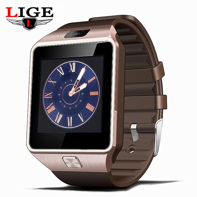 Prix pour Relojes Smartwach Bluetooth Smart Watch Hommes Montre-Bracelet sport numérique-montres IOS Android téléphone Portable Dispositif Électronique Montre