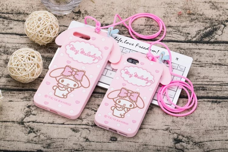 "Shockproof 3D Lovely Cartoon Kitty My Melody Cover For Apple iphone 7 4.7"" / iphone"