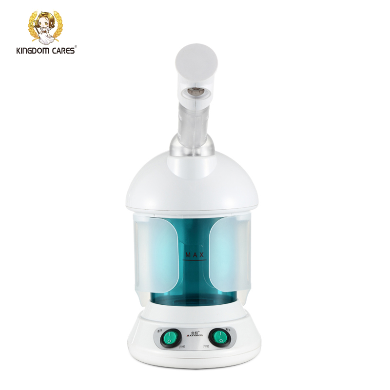 KINGDOM CARES Hot Mist Facial Steamer Humidifier Ozone Sterilization Steaming Skin Lonic Aromatherapy Essential Oil KD