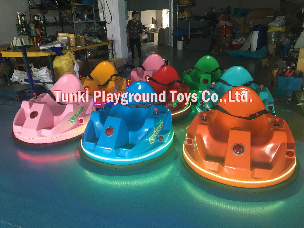 Colorful Rotating Funny Bumper Car