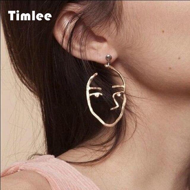 E 121 Exaggerated Personality Metal Earrings Fashion Earrings Wholesale