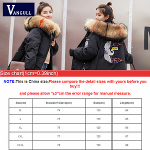 Image 5 - Fashion Casual Vrouwen Kleding 2020 Winter Hooded Rits Brede Taille Vrouwelijke Jassen Dikke Met Warme Jas Vrouwen Lange parka