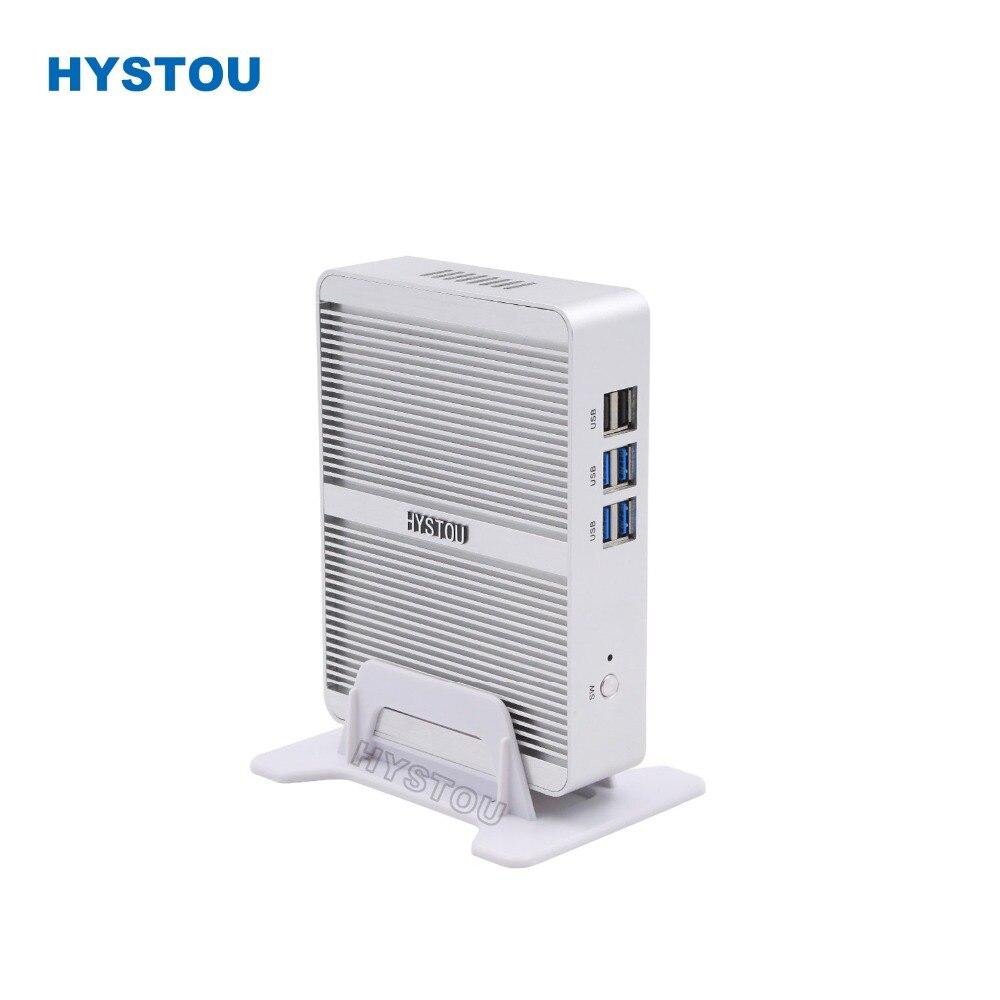 Core I5 7200u I7 5550u Hystou Mini Pc Windows 10 Hdmi Vga Dual Display Port Mini Htpc Mini Computer Linux I3 7100u 4k Tv Box Pc