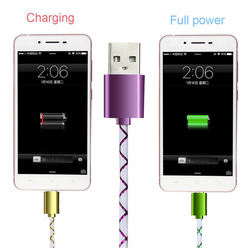 2A 1m Fast Charging Android Phone Adapter Charger Cable Charging Cord Data&Sync Cable Universal Micro USB Charger Cable #1204