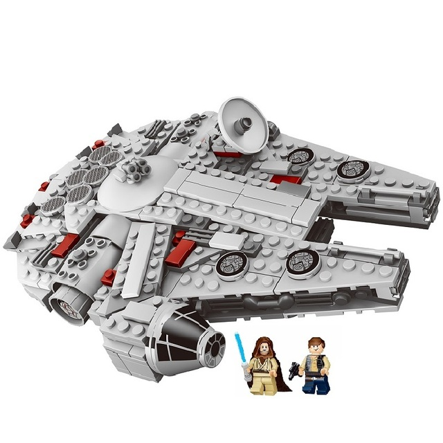 0a52df6b LELE 79213 Legoing Star Wars Millennium Falcon 367pcs STARWARS Building  Blocks Educational Toys For Kids Legoing StarWars 75105-in Blocks from Toys  & ...