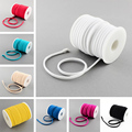 20m/roll 5mm Fashion Soft Tiny Elastic Nylon Cord Foulard Spandex Thread for Bracelet choker Necklace Jewelry Making colorful