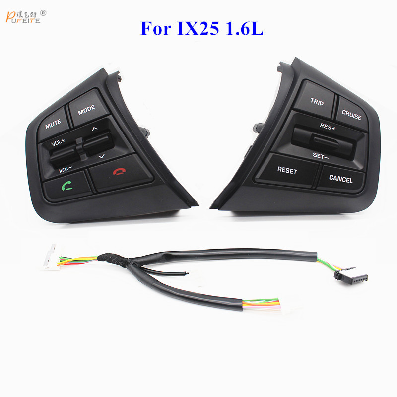 Freies verschiffen Für Hyundai ix25 (creta) 1.6L Lenkrad Tempomat Tasten Fernbedienung Volume Schalter auto zubehör