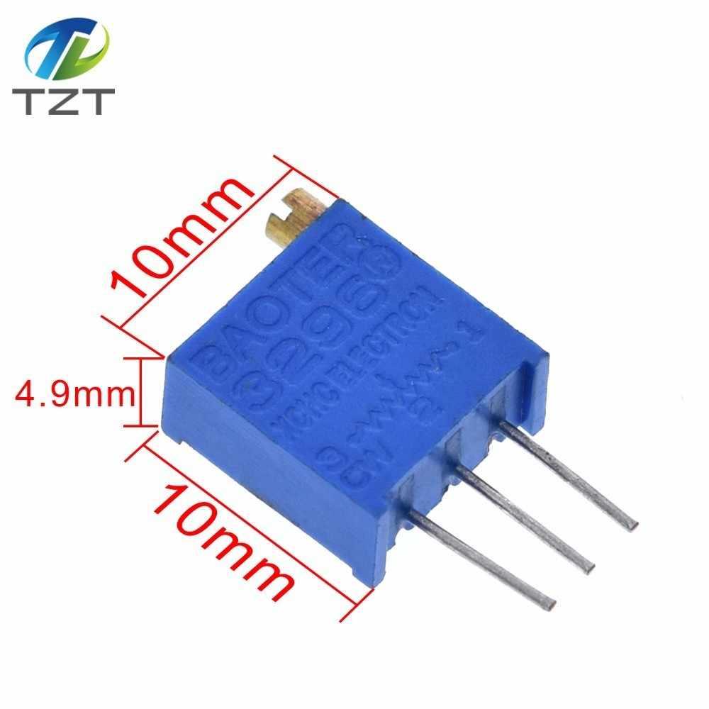 10Pcs 3296W-103 3296 W 10K ohm Trim Pot Trimmer Potentiometer AL