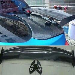 1M M2 M3 M4 szalony styl z włókna węglowego zestaw do nadwozia samochodu tylny Spoiler bagażnika wargi skrzydło dla BMW M4 M5 M6 2015|trunk spoiler|rear trunk spoilerspoiler lip -