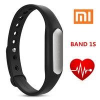 Original Xiaomi Mi Band1 S 1S Black Waterproof Smart Bracelet MiBand Bands Heart Rate Monitor Smart