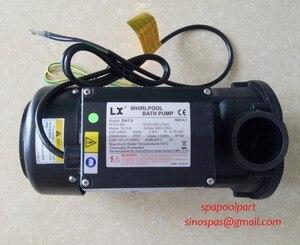Image 3 - WHIRLPOOL LX DH1.0 bañera de hidromasaje spa bomba de baño 1HP utilizado para apollo, ssw,wmk,crw,monalisa pedicura bomba de agua lx whirlpool pump