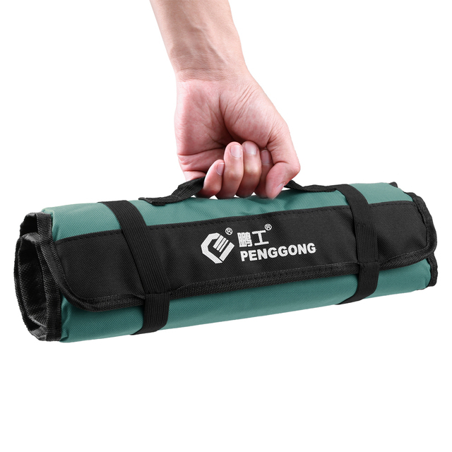 1f2e623ba0a8 Tool Bag Oxford Canvas Chisel Roll Bags Wearable   Waterproof Bag  Electrician Repair Tools Hand Tools Storage Organizer