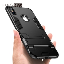 Housings Shockproof Case For iPhone 7 8 Plus X Military Luxury TPU Protective Hard Case For iphone 6 6s Plus 5 5s SE Coque Cover noctilucent protective tpu case for iphone 5 5s green red