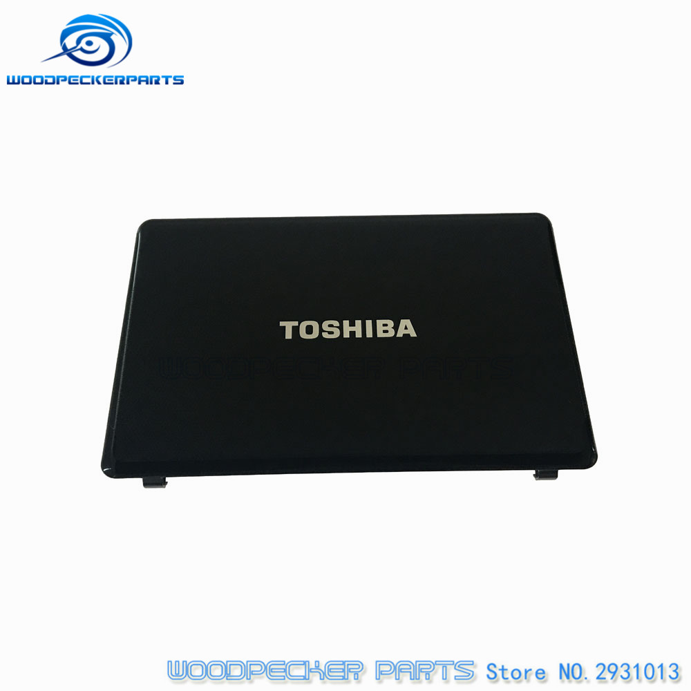 Laptop New original For toshiba For Satellite A660 A665 black LCD Cover top Back Rear Lid A Shell Screen AP0CX000810 FA0CX000D10 new laptop for toshiba satellite p55t a5202 p55t a5118 lcd back top cover fit touchscreen a shell