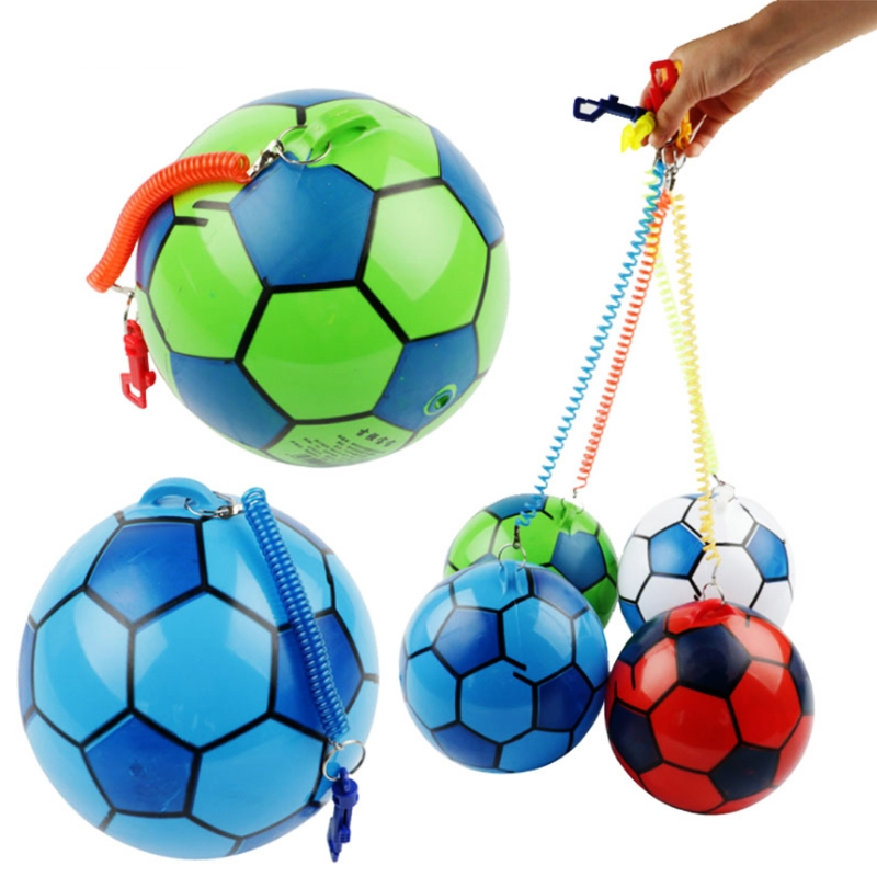 New Inflatable Football With String Sports Kids Toy Ball Juggling Ball Outdoor