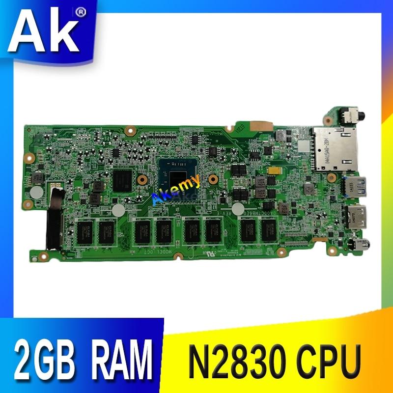 C200MA MAIN_BD._2G/N2830 carte mère pour Asus C200MA ordinateur portable avec N2830 CPU 2 GB RAM carte mère REV E DA00C7MB6E0