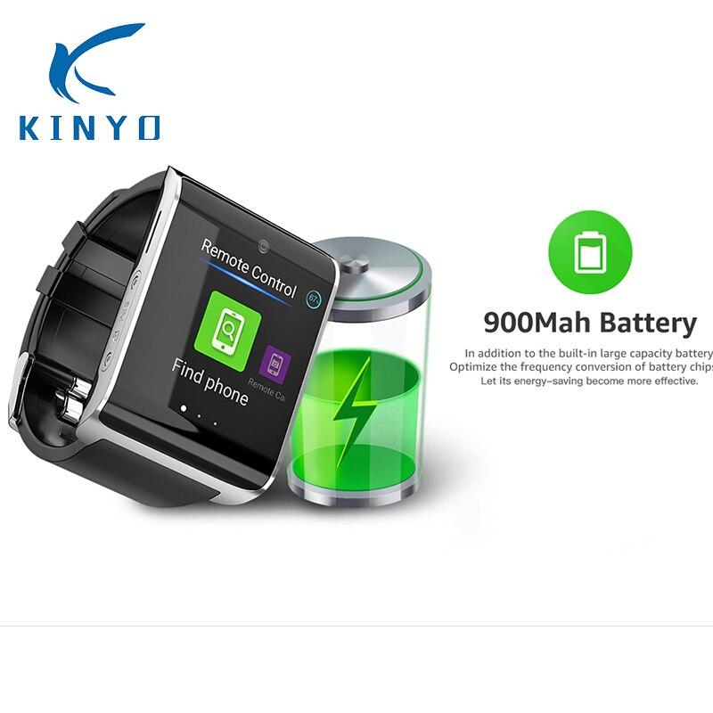 900 mah Batterie Longue attente 4g Montre Smart Watch Montre-Bracelet Android MTK737 1 gb + 16 gb Moniteur de Fréquence Cardiaque wiFi GPS boussole de soutien