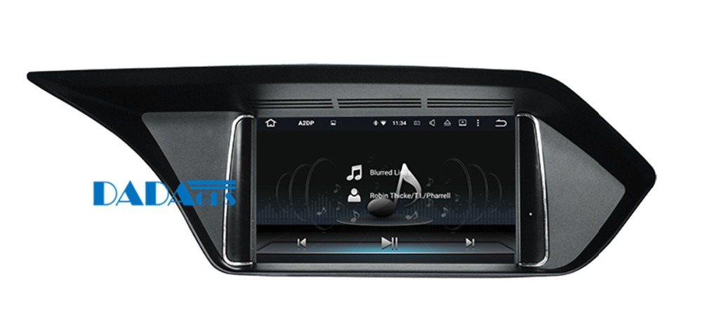 Quad Core Android 7.1 Car DVD Player GPS Navigation For <font><b>MERCEDES</b></font>-BENZ E <font><b>W212</b></font> 2013 2014 original with AUX Stereo Unit <font><b>Multimedia</b></font> image