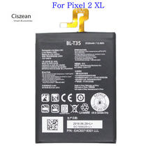Ciszean 1x3520 mAh 3.85 V DC BL-T35 batterie de remplacement pour LG Google 2 Pixel 2 XL Batteries(China)