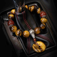 OHANEE car gear beads automobile ornaments Agate Pendant Jewelry vehicle gear interior decoration Automobiels Peace Symbol