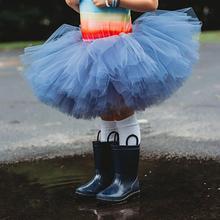 цены на 6 Layer Kids Girls Fluffy Gauze Dance Ballet Pettiskirt Princess Tutu Skirt for princess girls  в интернет-магазинах