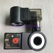 Резьбовой картридж катушка клапана внутреннее отверстие 13 мм высота 37 мм AC220V DC24V гидравлический Соленоидный клапан катушка