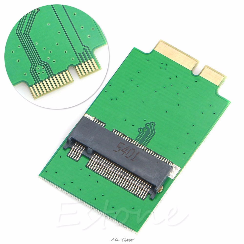 2018 For Apple MacBook Air A1370 A1369 SSD 12+6 Pin Adapter For M.2 SSD To 2010 2011 Versions