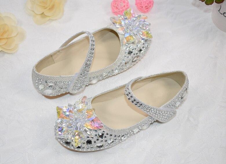 da criança do bebê princesa crianças sapatos de dança 04