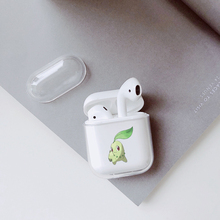 Case For airpods case Transparent Wireless Earphone Charging Box Cover Bag for Apple AirPods 1 2 Hard PC Protective