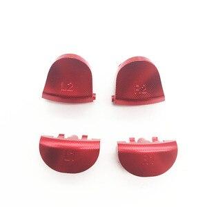 Image 5 - Kim loại Hợp Kim Nhôm L2 R2 Kích Hoạt & L1 R1 Kích Hoạt Nút cho Sony PS4 Bộ Điều Khiển JDS 001 011