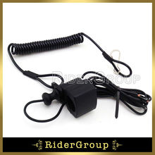 ATV Racing Tether Pull Kill Switch For Yamaha Warrior 350 1987/88/89/90/91/92/93/94/95/96/97/98/99/00/01/02/03/04 ATV 4 Quads(China)