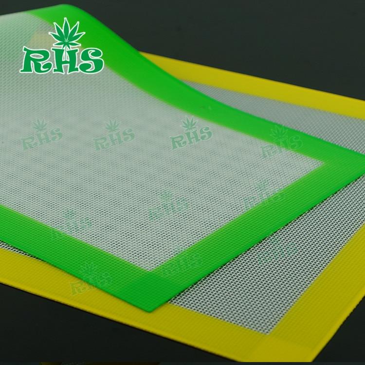 10pcs cm fiberglass silicone heat resistant pad for Is fiberglass heat resistant